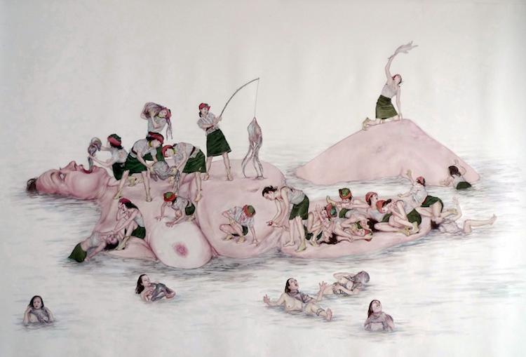 © Mónica Cook | pintura | escultura | animación | realismo | figurativismo | arte a un click | A1CGalería