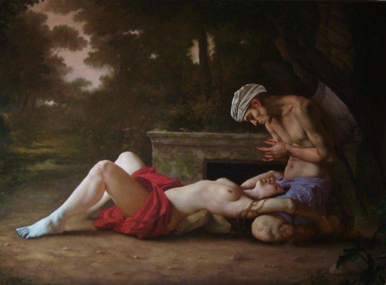 © Roberto Ferri | pintura | barroco | realismo | simbolismo | arte a un click | A1CGalería
