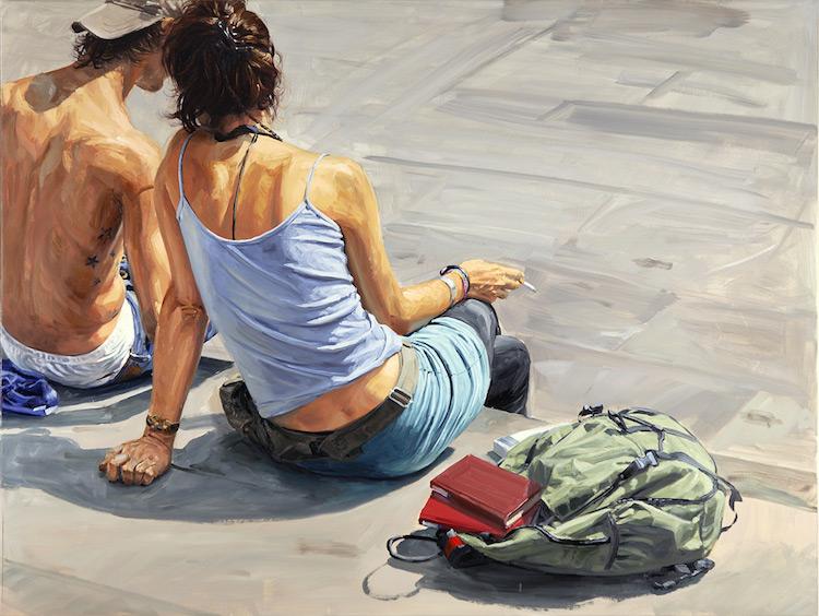 © Michele del Campo | pintura | realismo | figurativismo | arte a un click | A1CGalería
