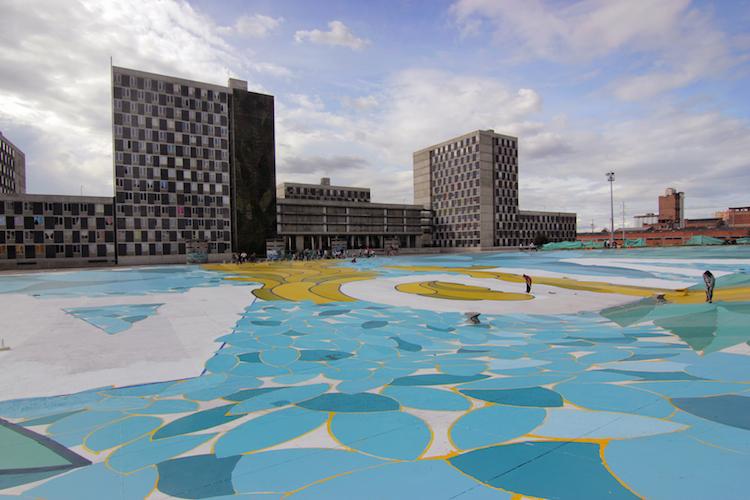 © Boa Mistura | Vida | Bogotá | street art | intervención urbana | arte a un click | A1CExpos
