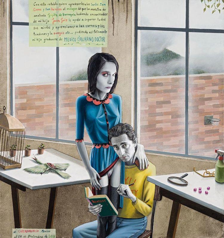 © Gino Rubert   pintura   ilustración   figurativismo   arte a un click   A1CGalería