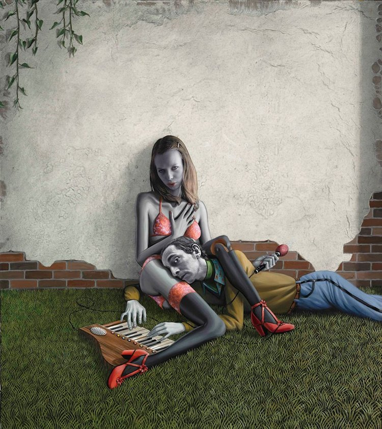 © Gino Rubert | pintura | ilustración | figurativismo | arte a un click | A1CGalería