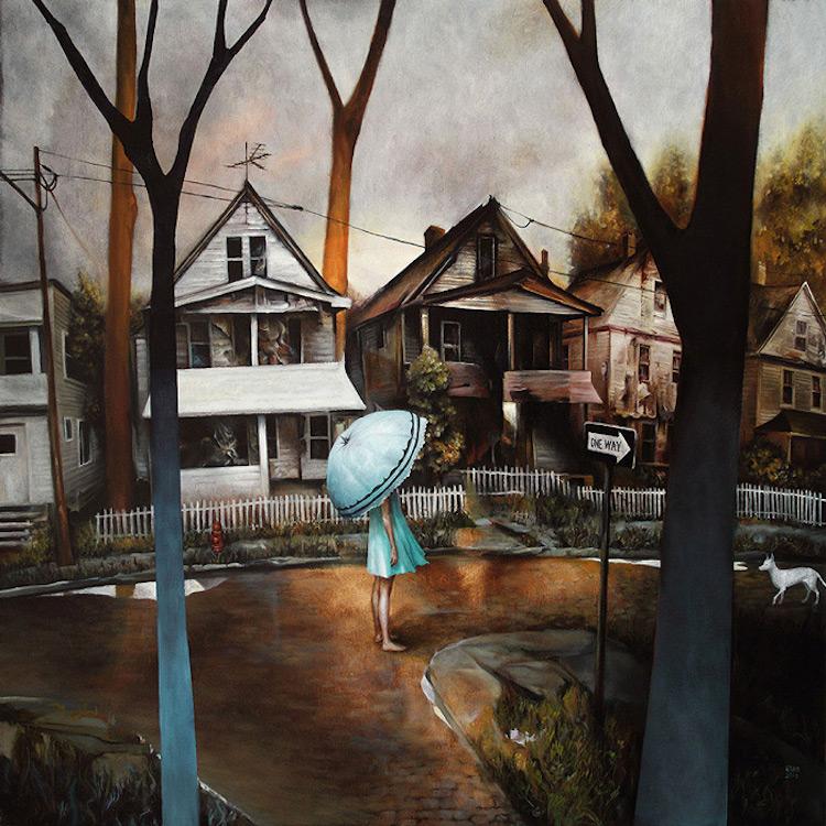 © Esao Andrews | pintura | ilustración | surrealismo | fantasía | arte a un click | A1CGalería