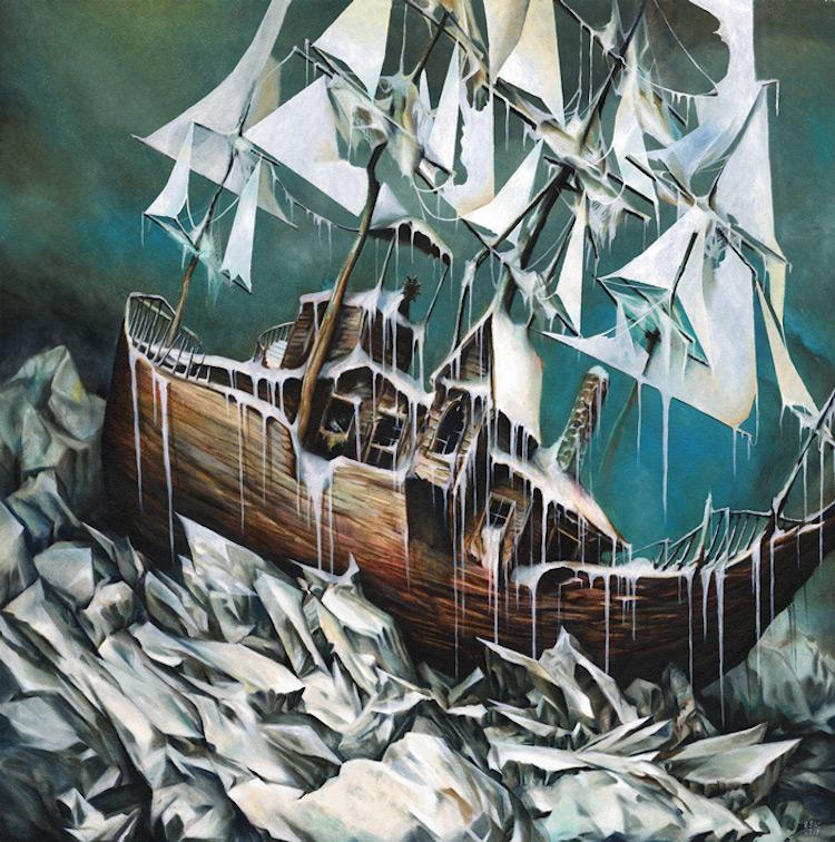 © Esao Andrews   pintura   ilustración   surrealismo   fantasía   arte a un click   A1CGalería