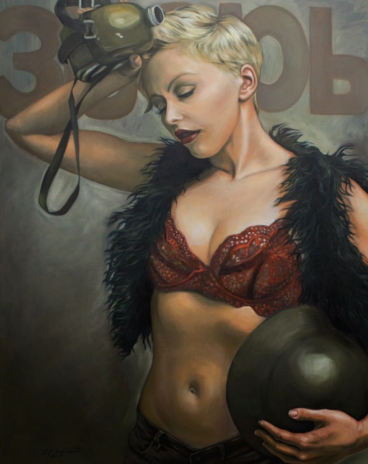 © Kathrin Longhurst | pintura | figurativismo | retrato | hiperrealismo | arte a un click | A1CGalería