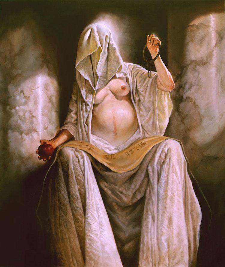 © Paul Mellender | pintura | ilustración | mitología | realismo | arte a un click | A1CGalería