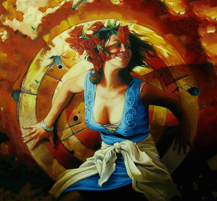 © Tertia Du Toit | pintura | ilustración | realismo | arte a un click | A1CGalería