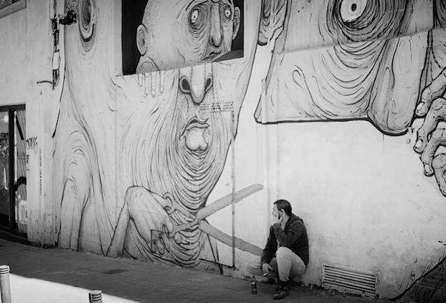 © David Delgado Ruiz | OffComerce | Una Ventana a Malasaña | V edición | exposición 2015 | arte a un click | A1CGalería