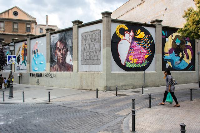 Intramuros | Encuentros sobre arte urbano | arte a un click | A1C