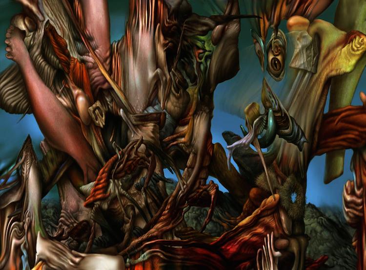 © Bernard Dumaine | pintura | pintura digital | arte digital | surrealismo | arte a un click | A1CGalería