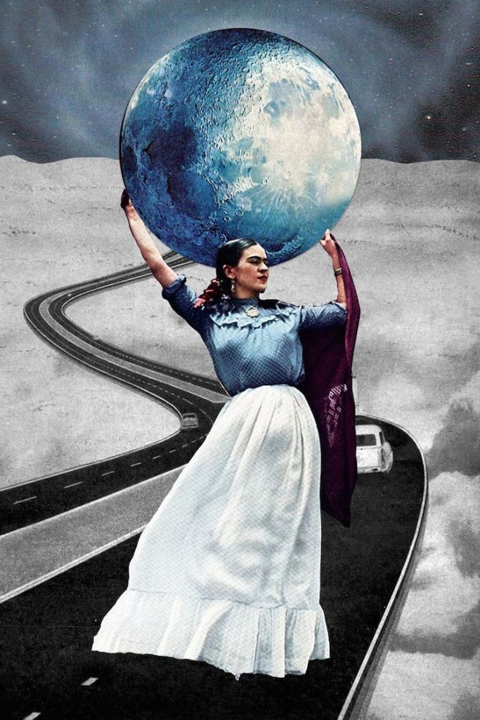 © Eugenia Loli | collage digital | surrealismo | onírico | arte a un click | A1CGalería