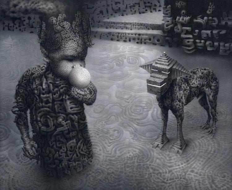 © Artur Golacki    pintura   arte digital   ilustración   instalación   arte a un click   A1CGalería
