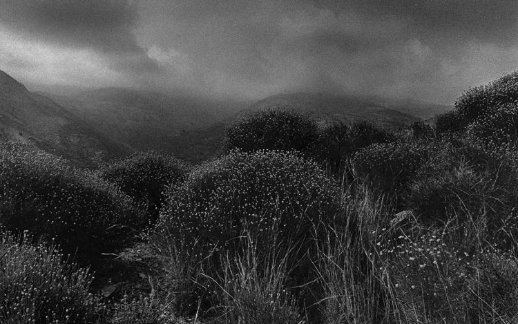 © Pilar Pequeño | Sierra Lujar. Alpujarras. 1982. serie paisajes | fotografía | entrevista | entreFotos Feria | arte a un click | A1CFerias