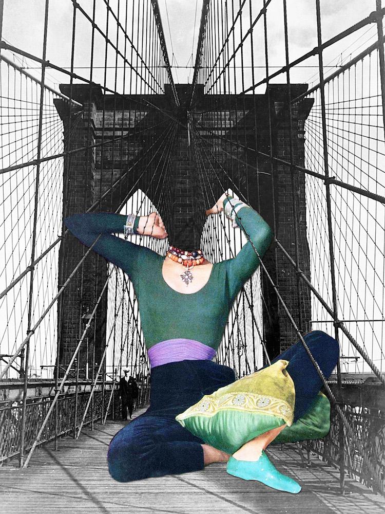 © Eugenia Loli | collage digital | surrealismo | onírico | arte a un click | A1CGalería