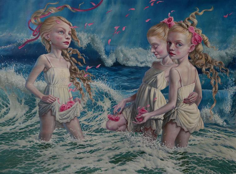 © Jana Brike | pintura | figurativismo | retrato | arte a un click | A1CGalería