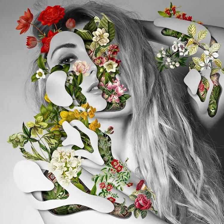 © Marcelo Monreal | collage digital | Arte a un Click |A1CGalería