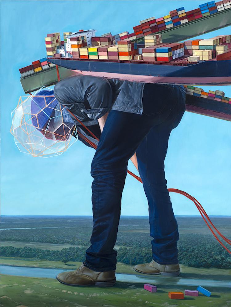 © Jean-Pierre Roy | ilustración | surrealismo | futurismo| arte a un click |A1CGalería