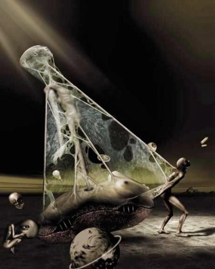 ©David Ho | ilustración digital | digital art | surrealismo | Arte a un Click | A1CGalería