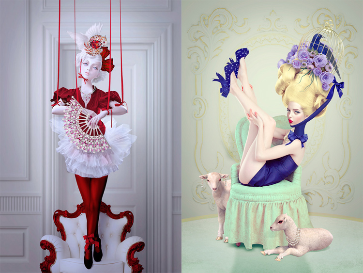 © Natalie Shau | fotografía digital | ilustración digital | fotografía de moda | Arte a un Click | A1CGalería