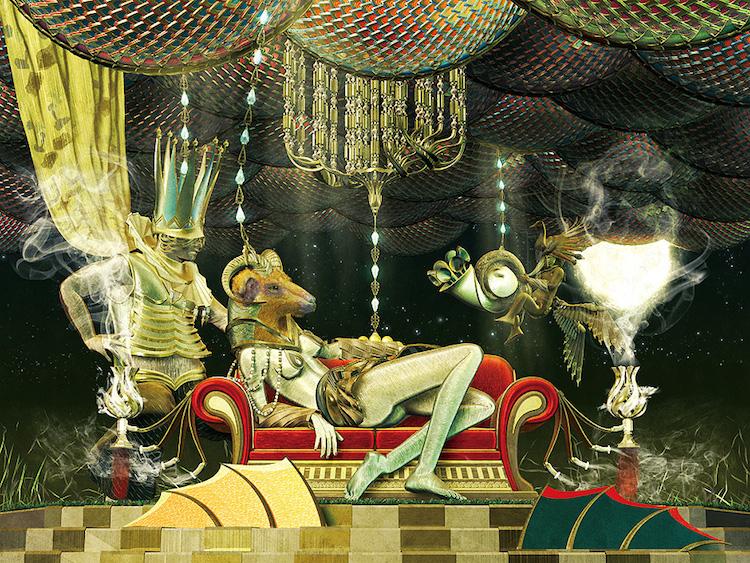 © Masakazu Yamashiro   ilustración digital   digital art   Arte a un Click   A1CGalería