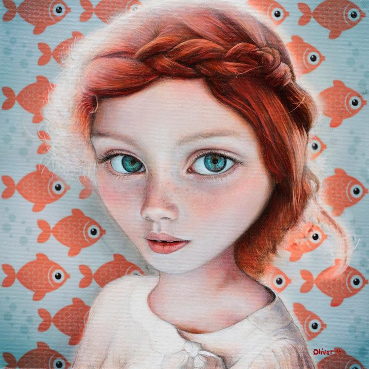 © Richard J. Oliver | pintura |surrealismo pop | lowbrow | Arte a un Click |A1CGalería