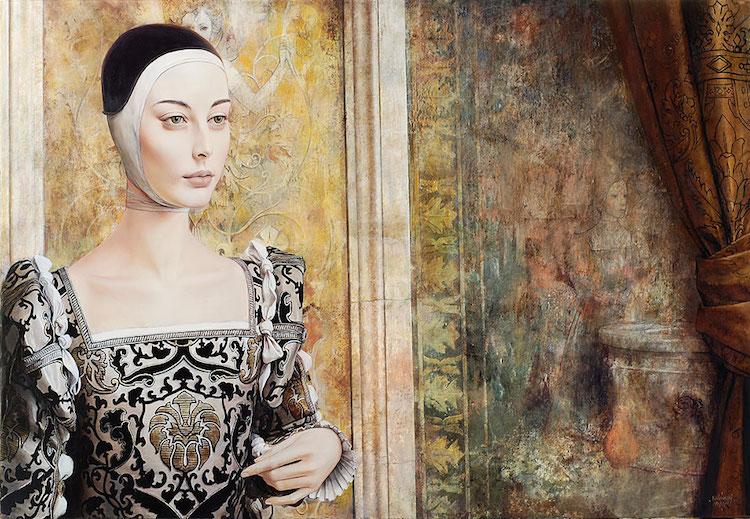 © Kacper Kalinowski | pintura | figurativismo | Arte a un Click |A1CGalería