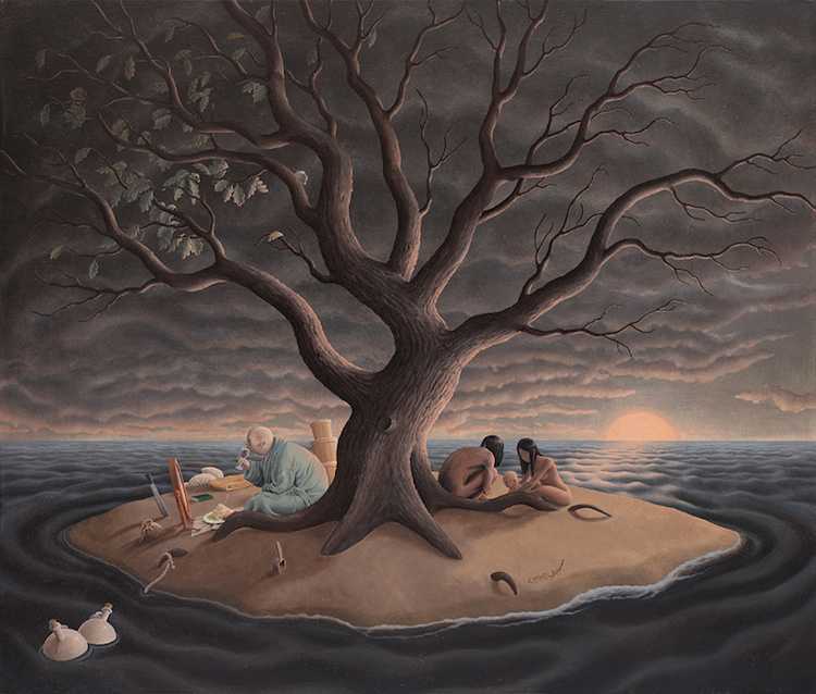 © Steve Chmilar   pintura   surrealismo   Arte a un Click   A1CGalería