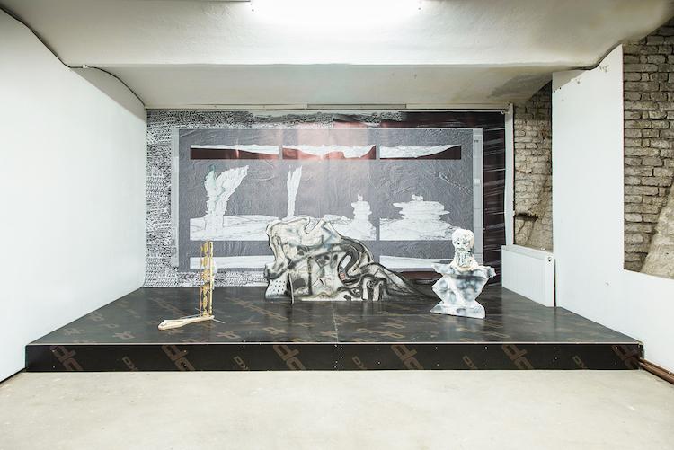 © Tarwuk | 4d exhibition view | Pony Project | Room Art Fair | Arte a un Click | A1Ferias