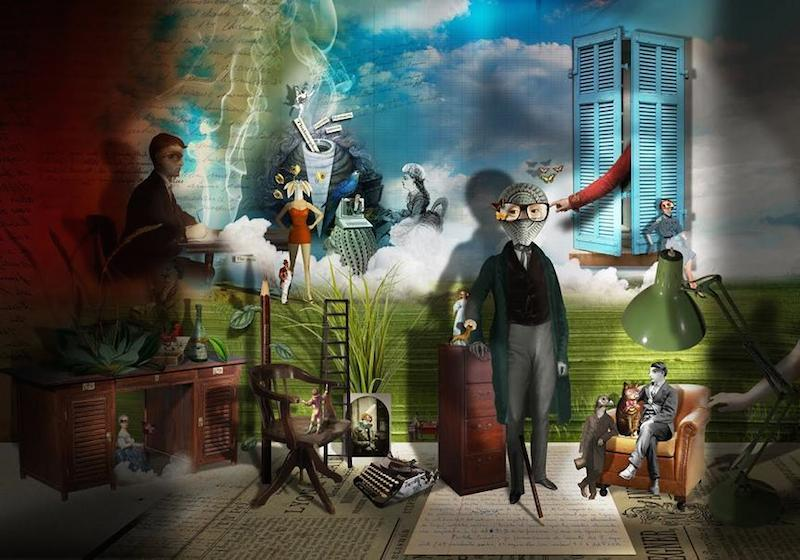 © Georges Bousquet   digital art   collage   Arte a un Click   A1CArtes