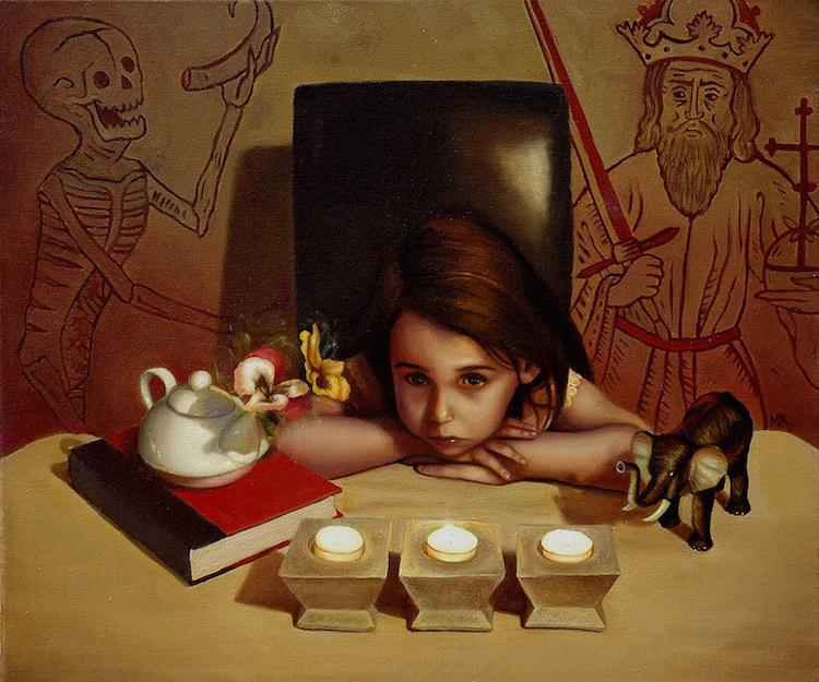 © Michael Ramstead | ilustración | pintura |surrealismo pop | Arte a un Click | A1CGalería