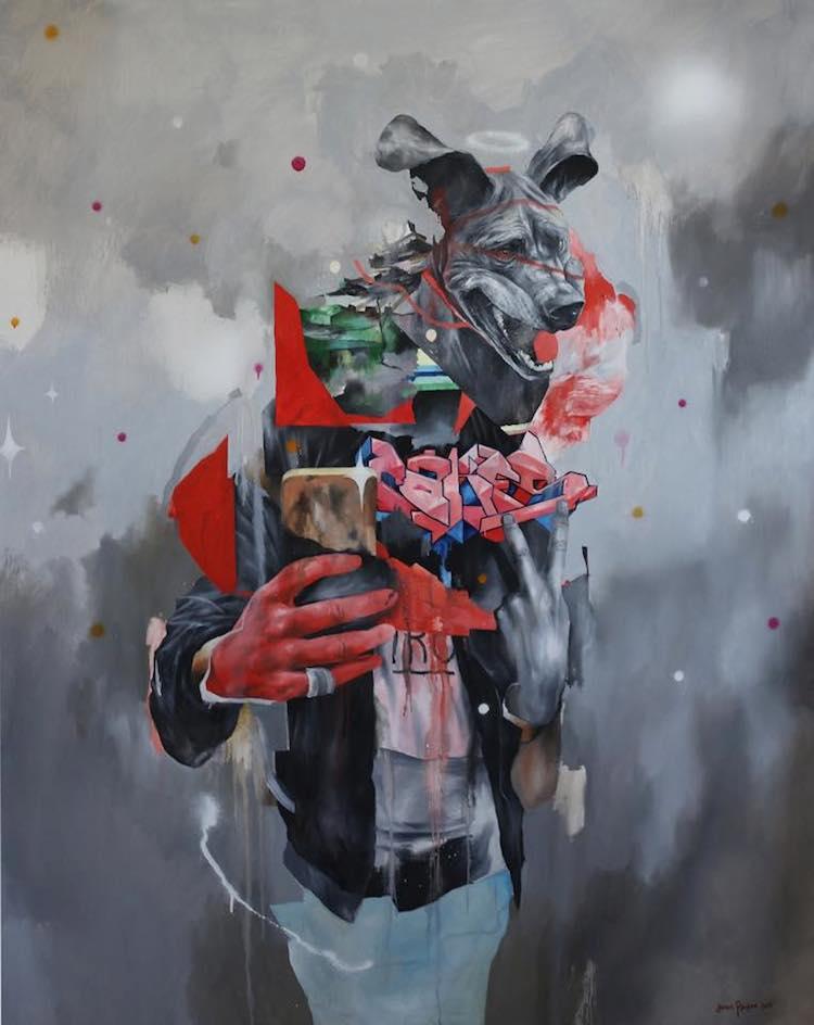 © Joram Roukes   pintura   Arte a un click   A1CArtes