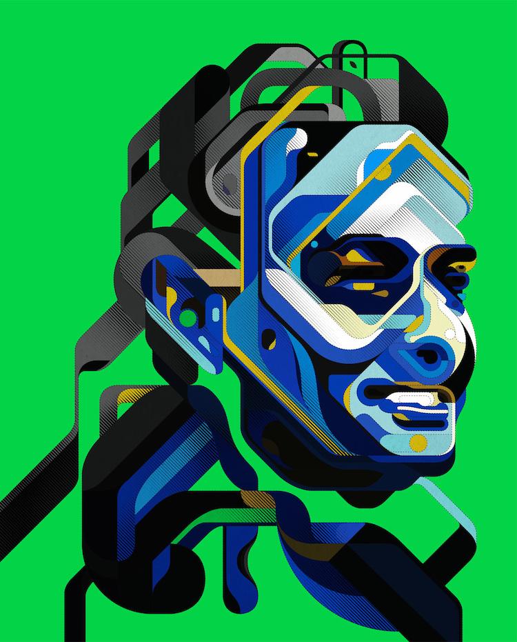 © Charles Williams | ilustración digital | diseño gráfico | Arte a un Click | A1CGalería