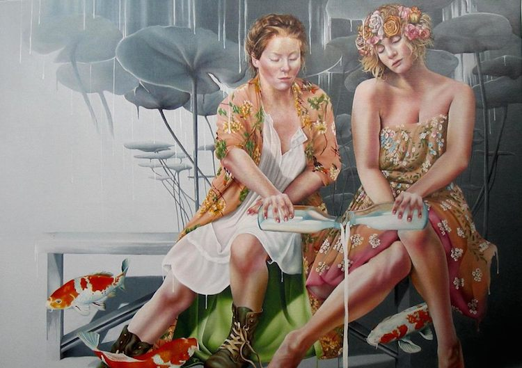 © Helene Terlien |pintura | figurativismo | Arte a un Click |A1CArtes