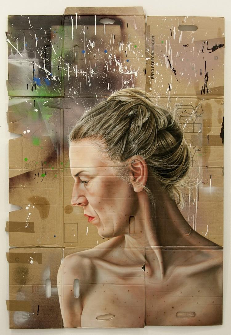 © María Torp   pintura   fotorrealismo   Arte a un Click   A1CArtes