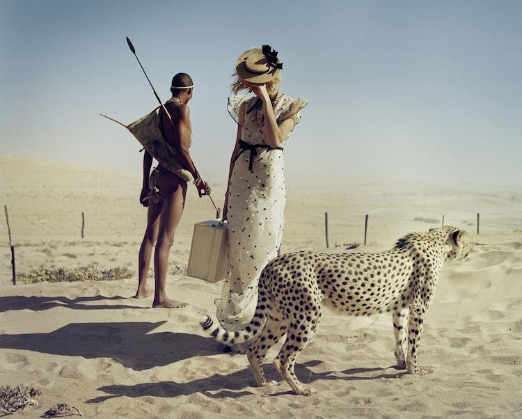 © Tim Walker  fotografía   fotografía de moda   fotomontaje   arte a un click   A1CArtes