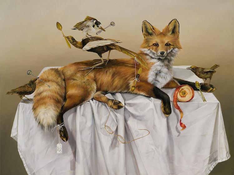 © Kate Bergin |pintura |realismo | Arte a un Click | A1CGalería