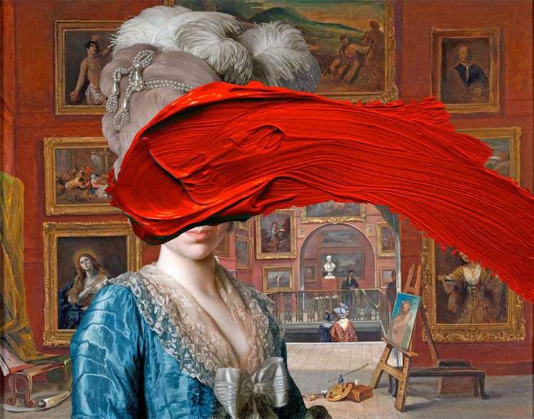 © Thomas Robson   collage digital   Arte a un Click   A1CGalería