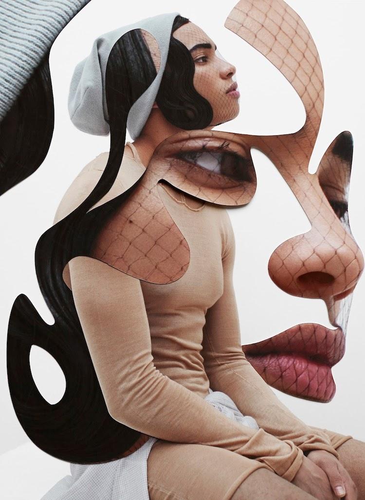 © Damien Blottière | collage | Arte a un Click | A1CArtes