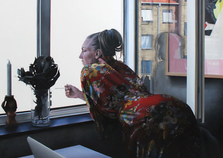 © María Torp | pintura | fotorrealismo | Arte a un Click | A1CArtes