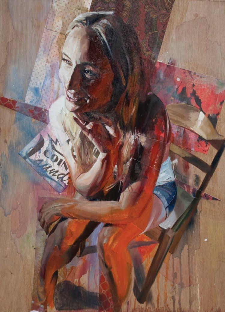 © Drew Young   pintura   realismo   abstracción   Arte a un Click   A1CArtes