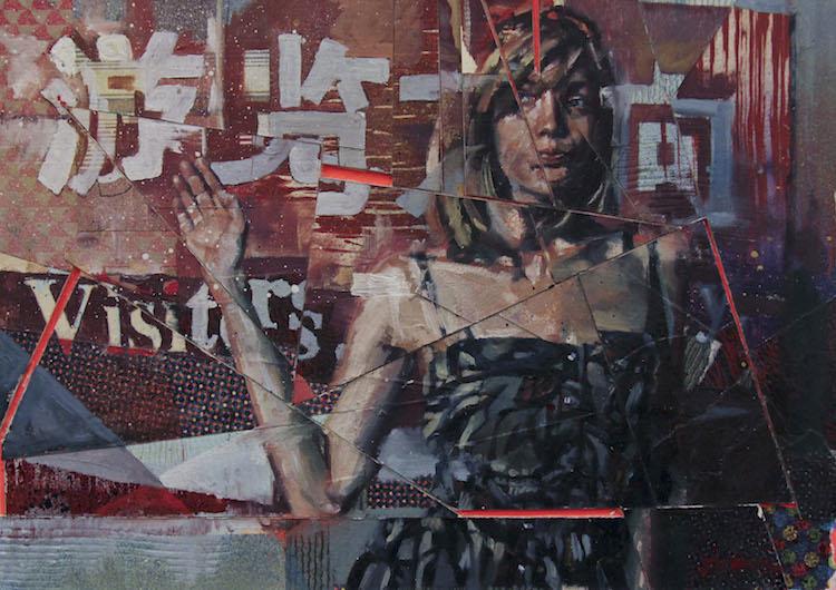 © Drew Young | pintura | realismo | abstracción | Arte a un Click | A1CArtes