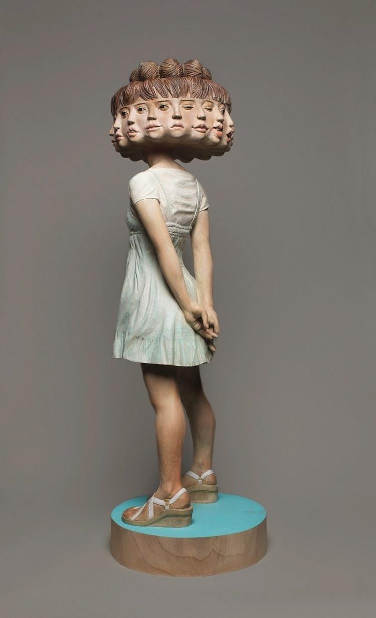© Yoshitoshi Kanemaki   escultura   Arte a un Click   A1CArtes
