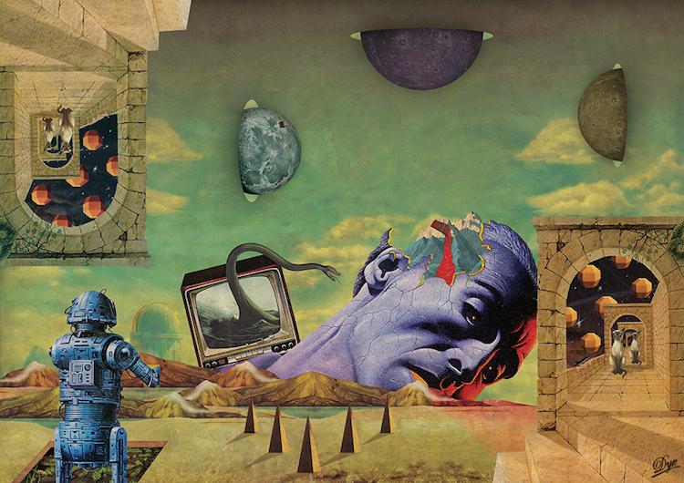 © Albane Simon | Collage | Arte a un Click | A1CArtes
