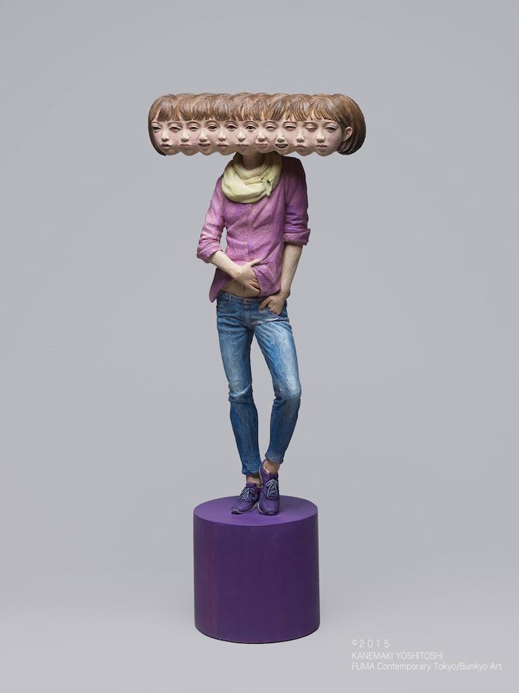 © Yoshitoshi Kanemaki | escultura | Arte a un Click | A1CArtes
