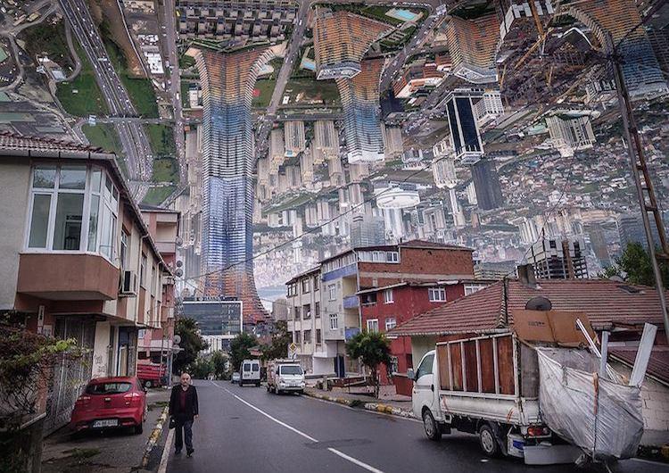 © Aydın Büyüktaş | collage digital | Arte a un Click |A1CArtes