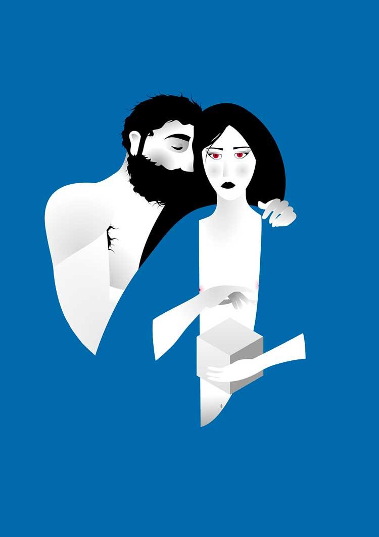 © Marcos Moreno Pons | Kaos | Ilustración | Arte a un Click | A1CShowroom