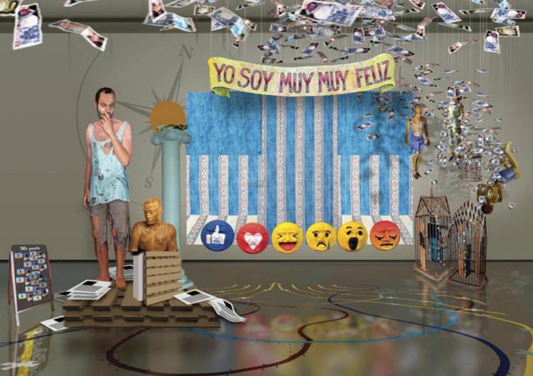 © Ausín Sanz | Autorretrato infiel | Exposición | CAB Burgos | Arte a un Click | A1CExpos