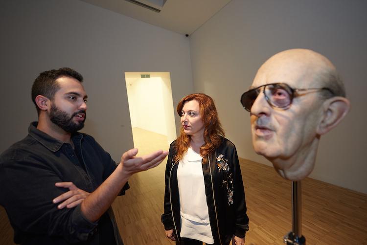 @ Eugenio Merino | Punching | Quien es ese hombre | TEA Tenerife | Arte a un Click |A1CExpos