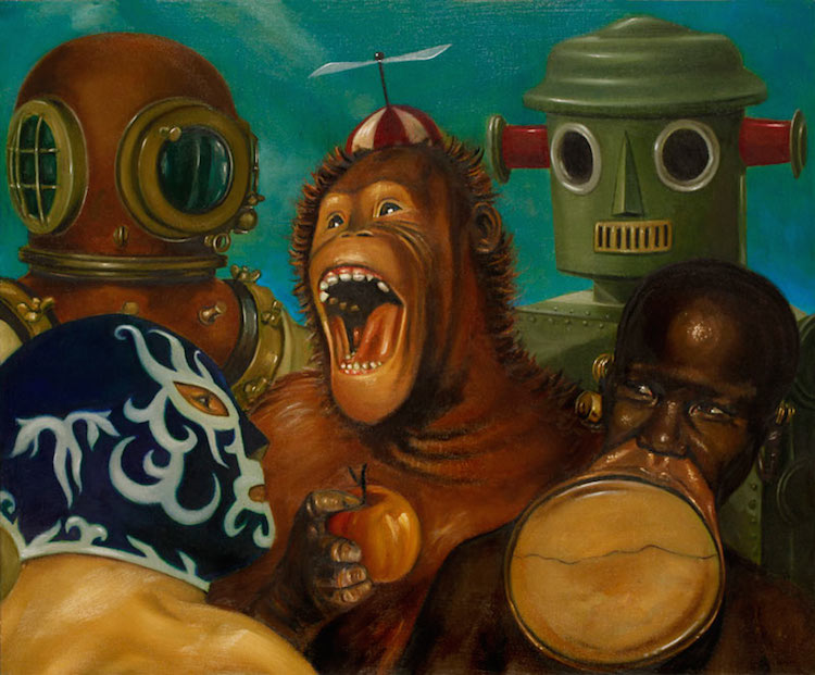 © Gonzalo Rueda | pintura | Surrealismo pop | Arte a un Click | A1CArtes