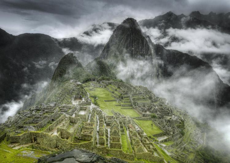 © Christian Voigt Night | Galería Lucía Mendoza |Christian Voigt | Arte a un Click | A1CExpos | Machu Picchu, Peru, 2009
